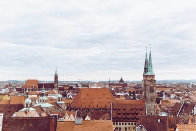 Blick über die Dächer Nürnbergs