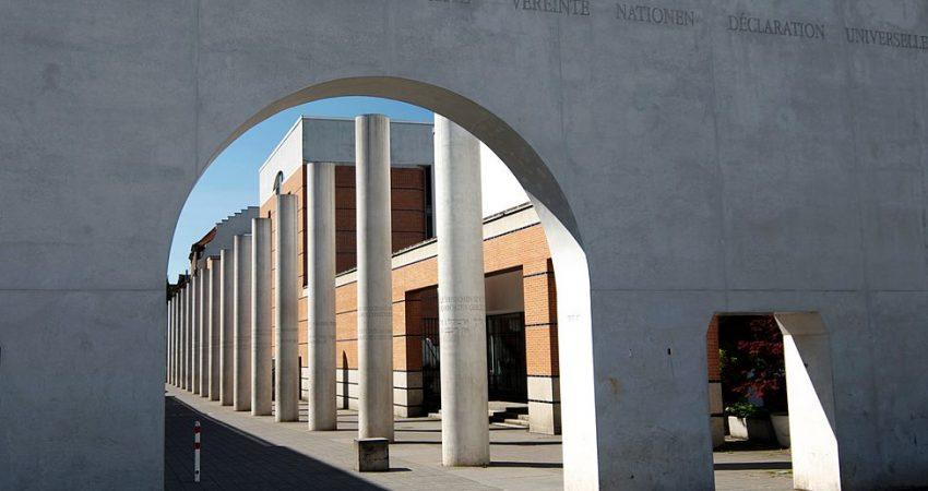 Straße der Menschenrechte Nürnberg