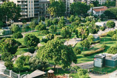 Grüne Oase mitten in der Stadt